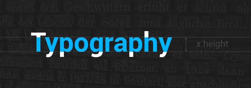 Typography x-height