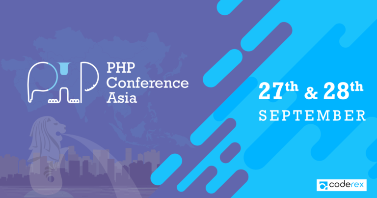 PHP Conference Asia 2018 - Coderex Is Silver Sponsor
