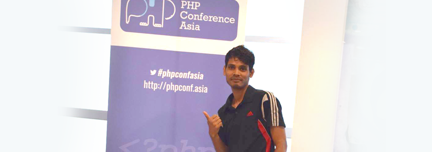 Lincoln Islam, Founder of CodeRex, at PHP Conference Asia 2016