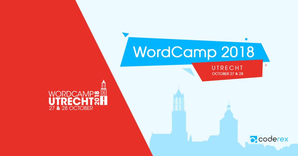 CodeRex is a Silver Sponsor of Utrecht WordCamp, 2018