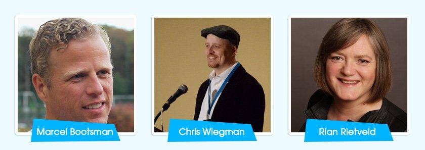 Three Major Speakers in WordCamp Utrecht