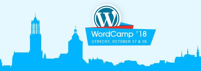 CodeRex in WordCamp Utrech, 2018