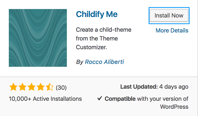 Childify Me Installation