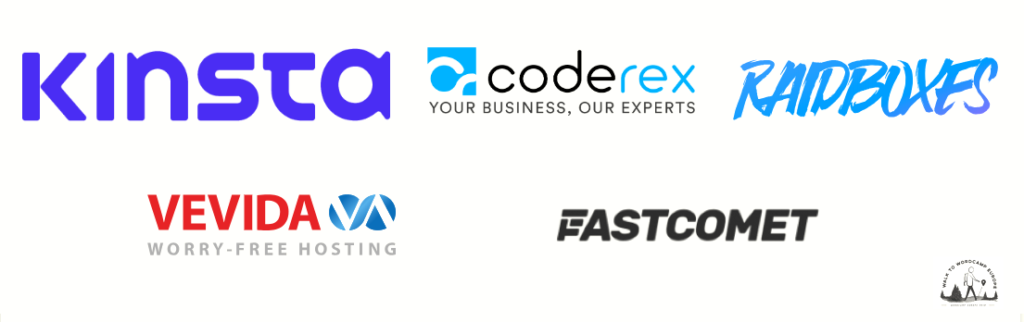 Major Sponsors of Walk to WordCamp EU