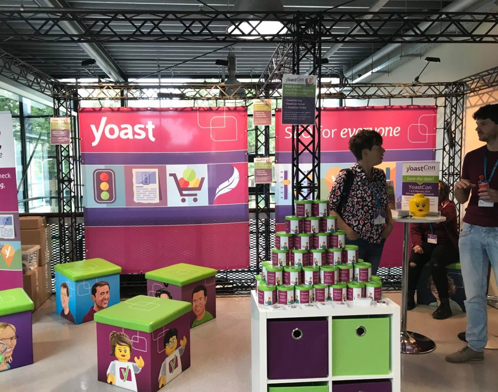 Yoast Stall - WordCamp Europe 2019