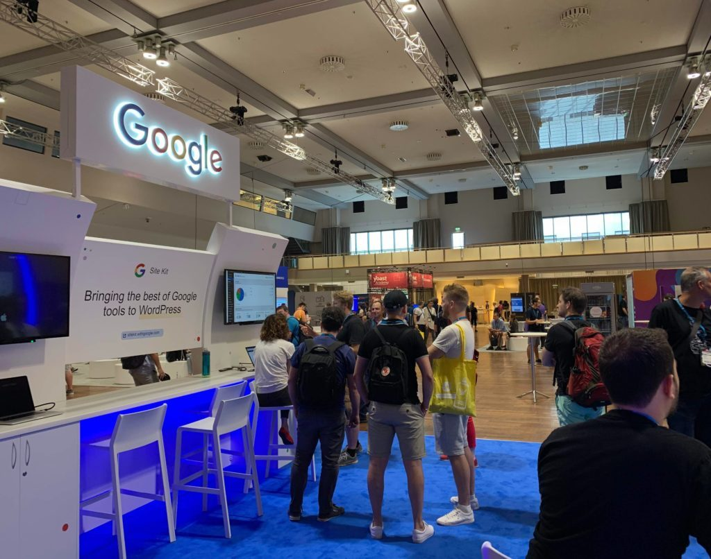 Google Stall – WordCamp Europe 2019
